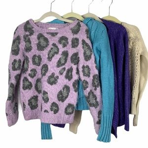 Girls Sweaters -Justice,Children's place,Joe Fresh